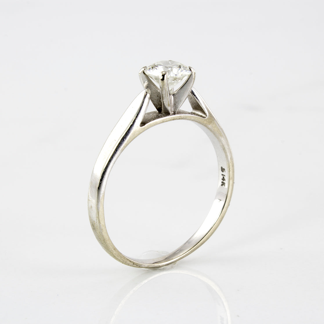 Simple Solitaire Ring | 0.53 ctw | SZ 6.25 |