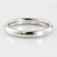 'Birks' White Gold Wedding Band | SZ 6.5 |