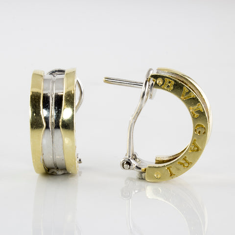 'Bvlgari' B.zero1 Half Hoop Earrings