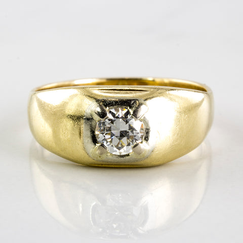1930's Men's Diamond Ring | 0.45 ctw | SZ 10.25 |