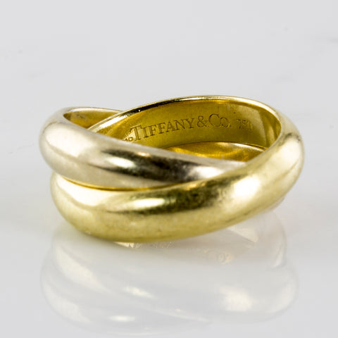 'Tiffany & Co.' Paloma's Melody Two Band Ring | SZ 3.75 |