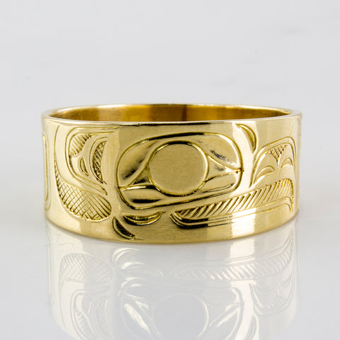 Haida Eagle Art Ring | SZ 10.25 |