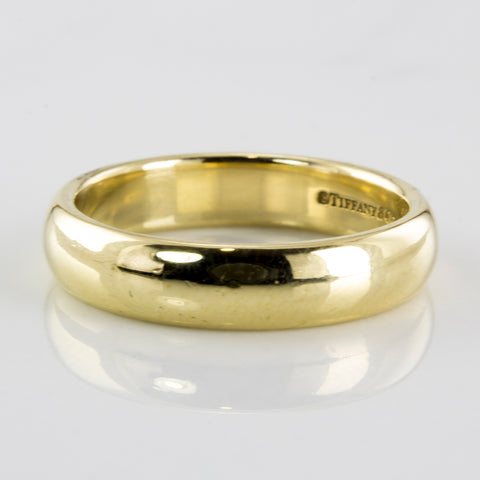 Tiffany & Co. Classic Wedding Band | SZ 7.75 |