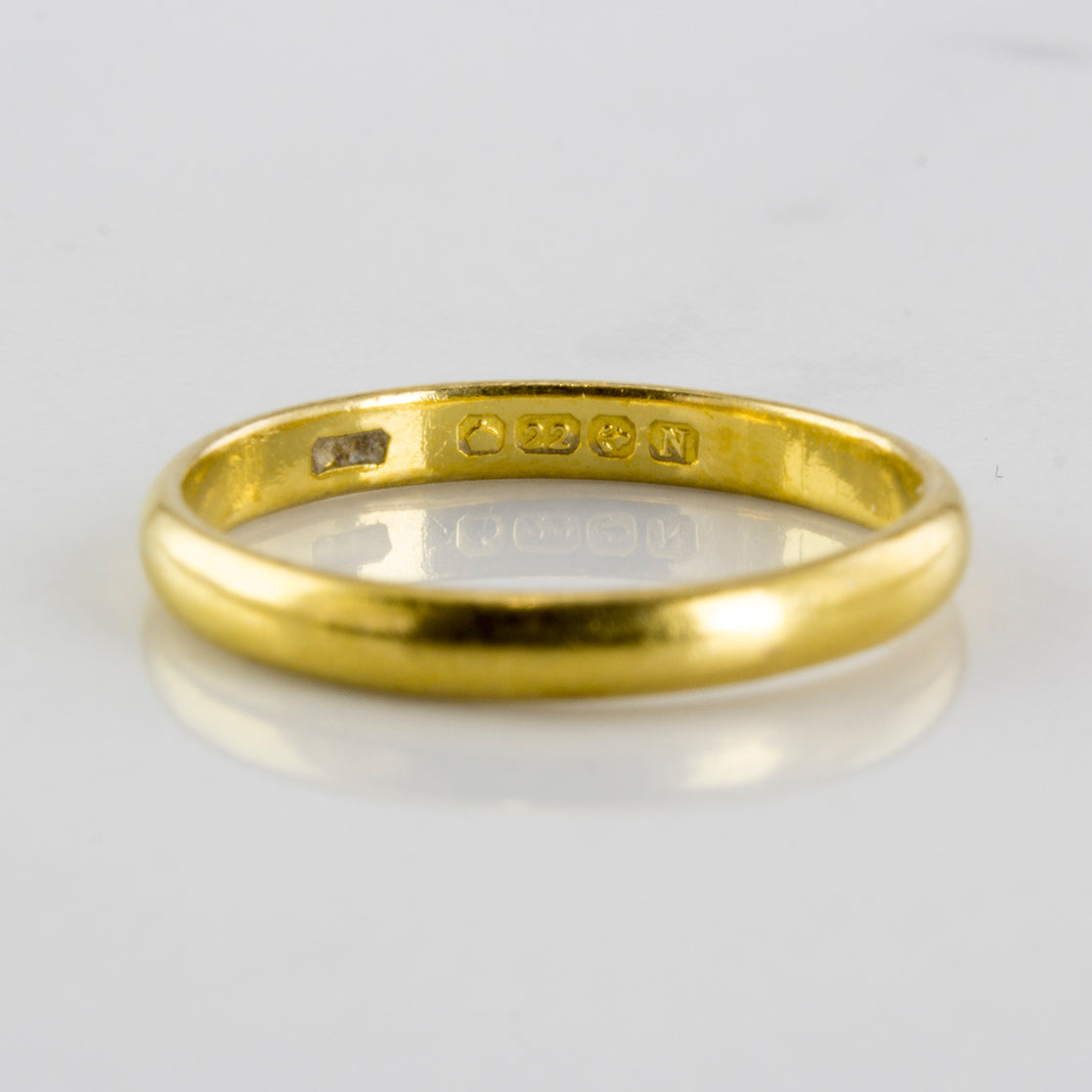 1860s Victorian Wedding Band | SZ 5 |