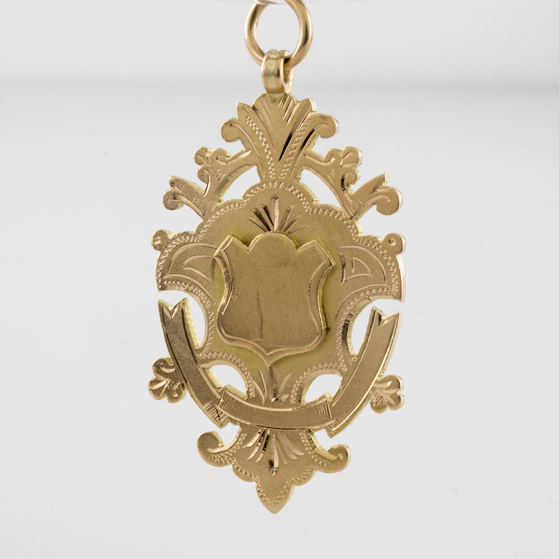 Edwardian Era Badge Pendant