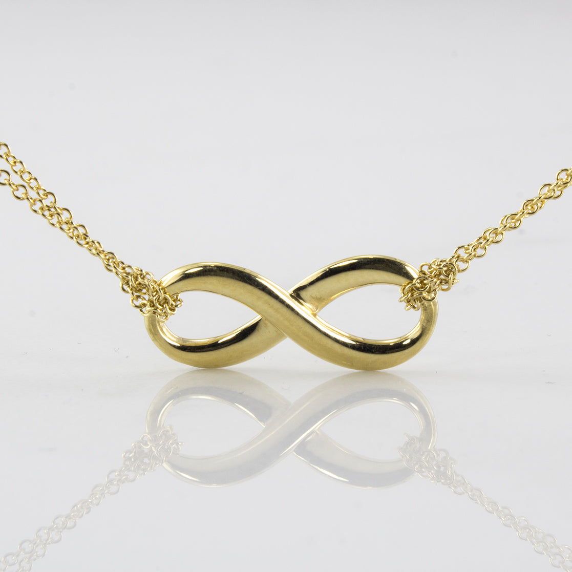 'Tiffany & Co.' Infinity Necklace | SZ 16"