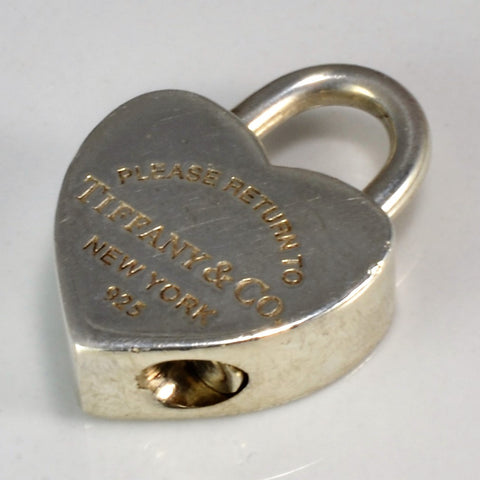 "Tiffany & Co. ""Return to Tiffany"" Heart Lock Charm"