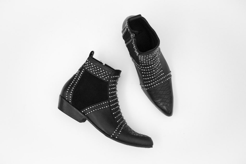 Anine Bing Black Charlie Boots
