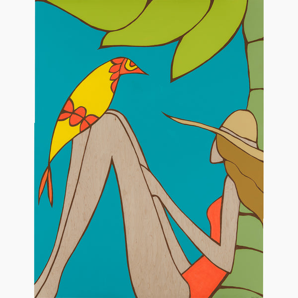 Andy Davis Fine Feathered Friend fine art print