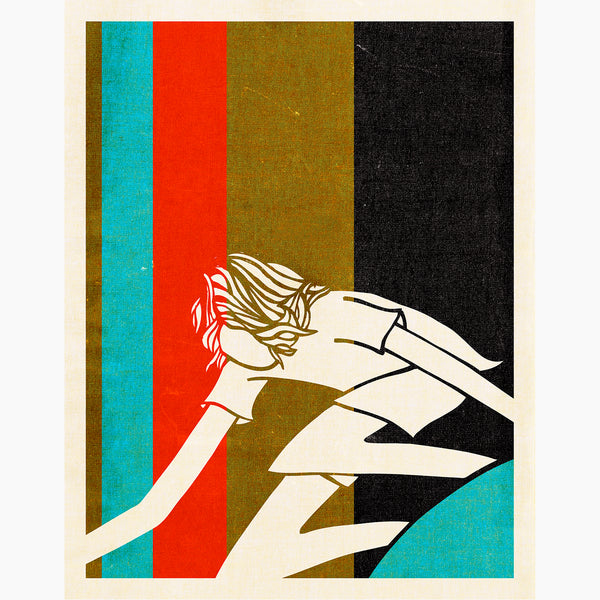 Andy Davis Shapes Stripe fine art print