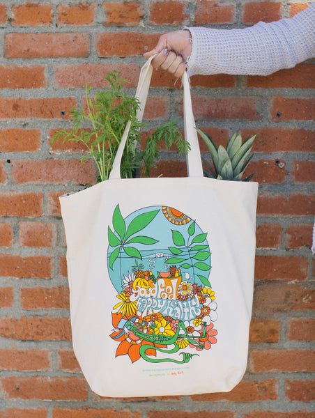 Andy Davis x Earthyandy Reusable Oversized Tote Bag