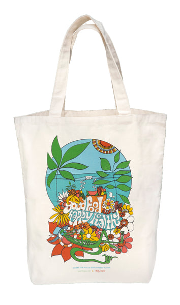 Andy Davis Earthy Andy Oversized Reusable Eco-friendly Tote Bag