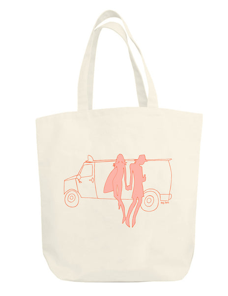 Van People Oversized Tote Bag