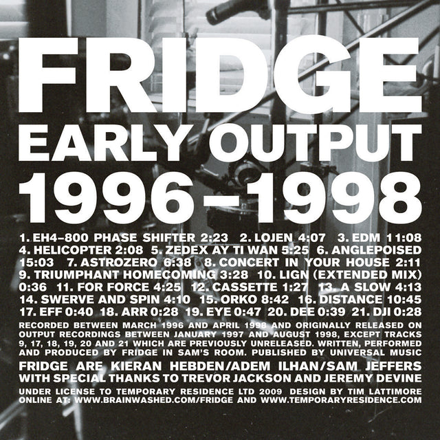 Early Output 1996-1998