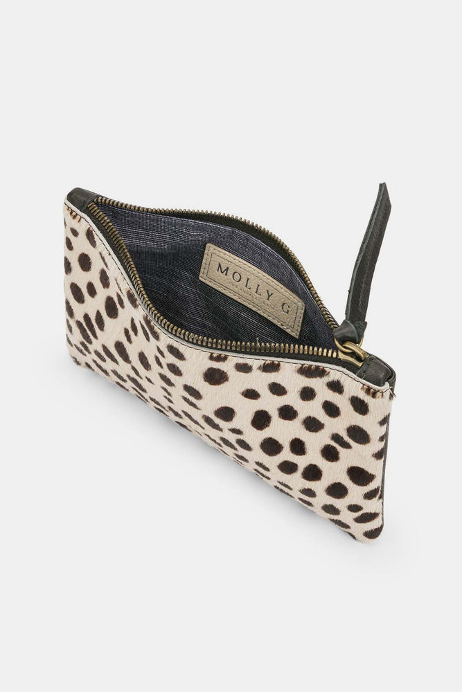 Rebel Mini Clutch Bone Cheetah