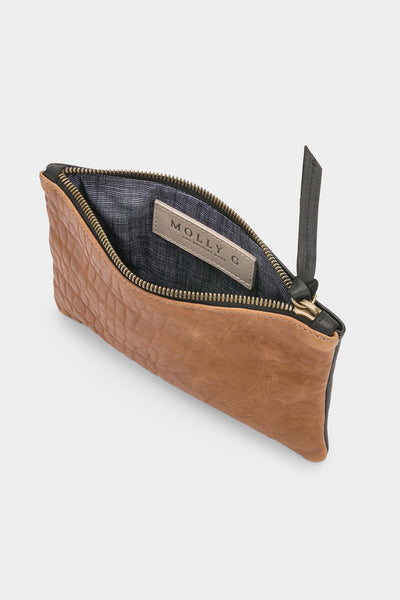 Rebel Mini Clutch Tobacco Portofino