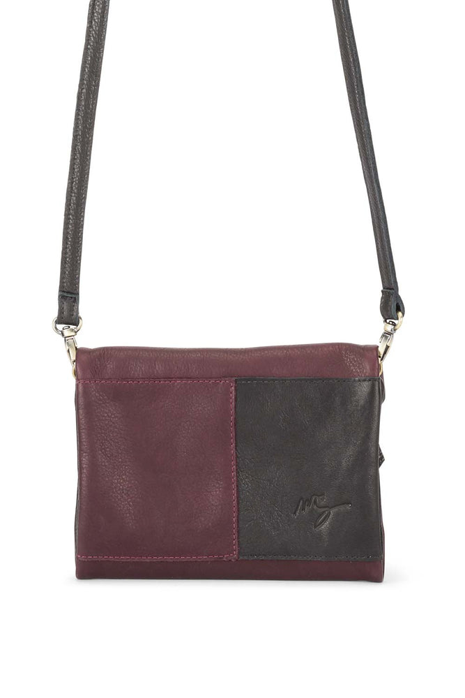 Alex Bag Black/Merlot - Molly G