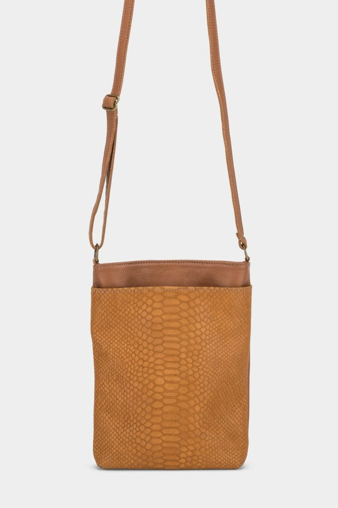 Anne Bag Chestnut Cobra