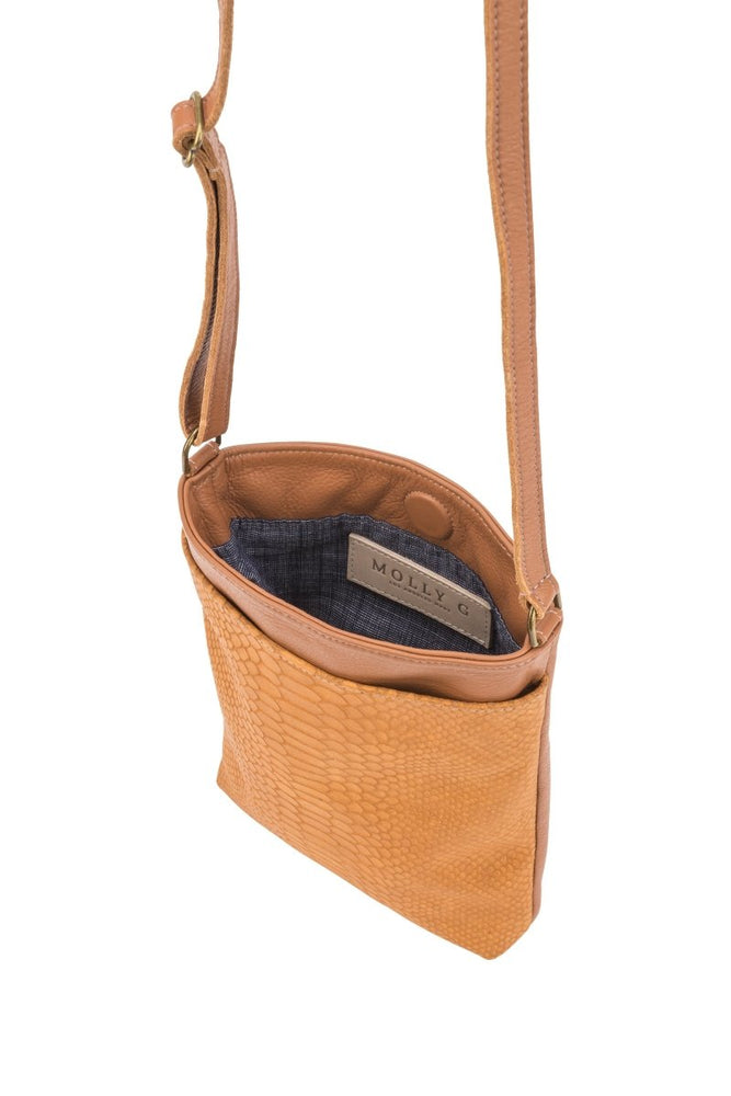 Anne Bag Chestnut Cobra - Molly G