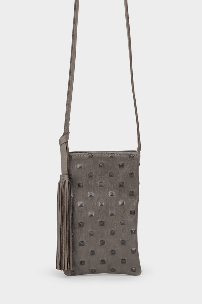 Frankie Bag Grey Studs - Molly G