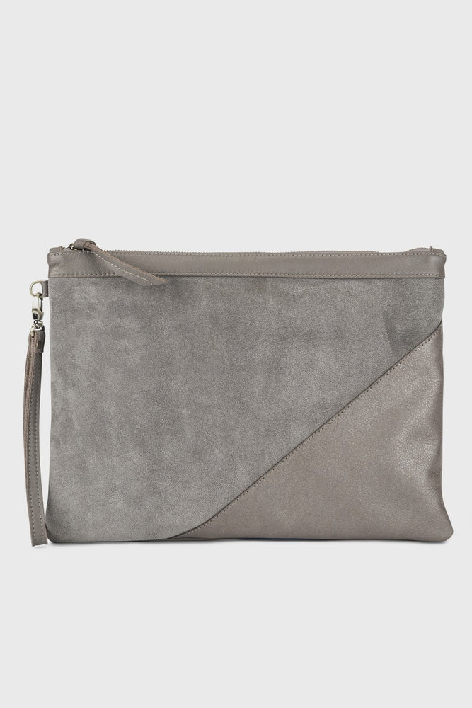 Gabby Clutch Grey