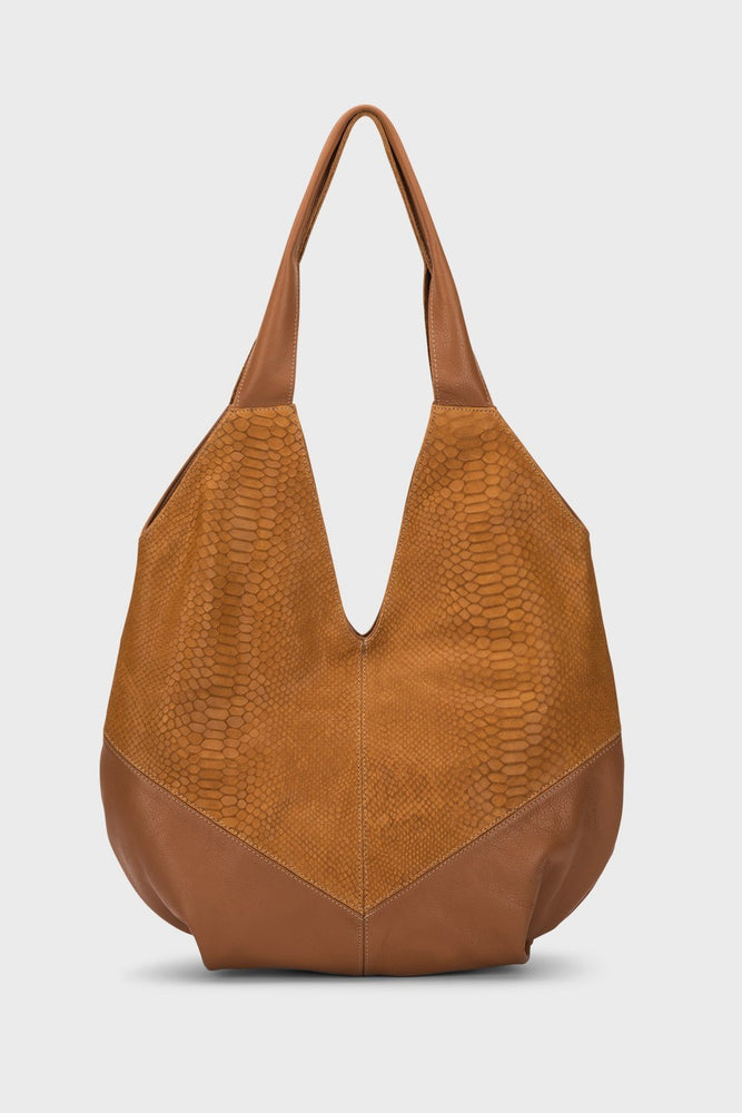 Louise Bag Chestnut Cobra - Molly G