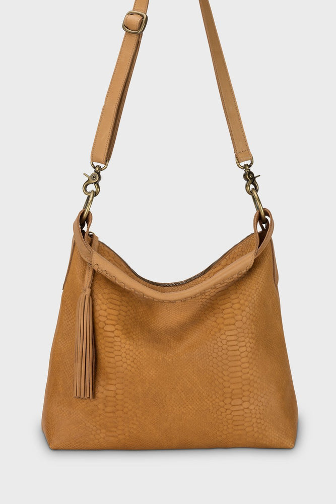 Nomad Bag Chestnut Cobra