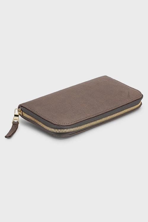 Penny Wallet Grey Metallic - Molly G
