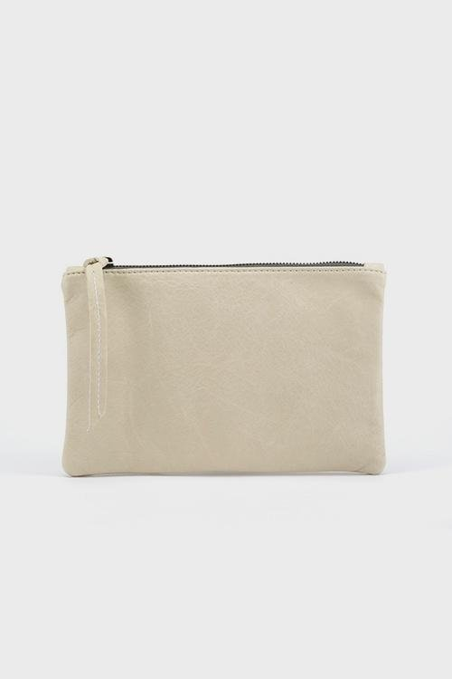 Rebel Mini Clutch Bone