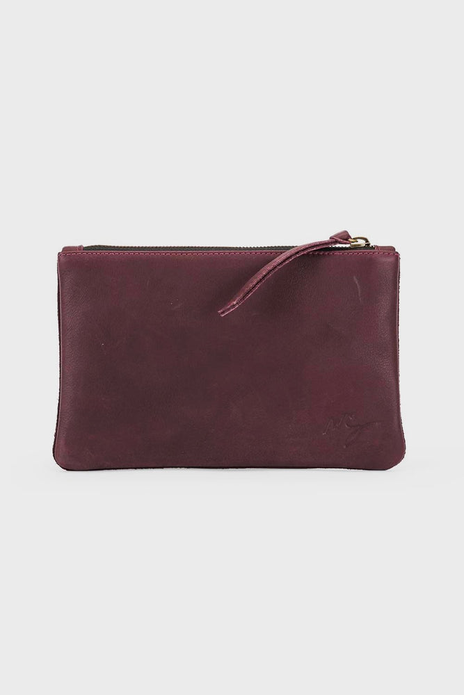 Rebel Mini Clutch Pomegranate