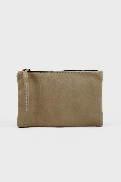 Rebel Mini Clutch Taupe