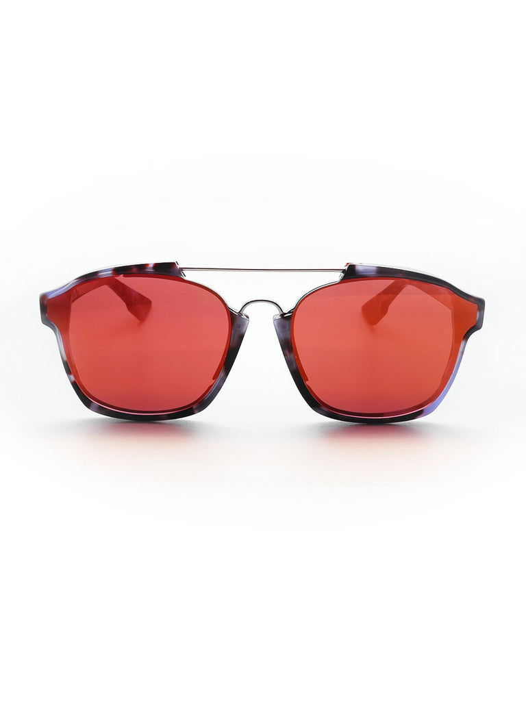 Dior Abstract Red Mirror Havana