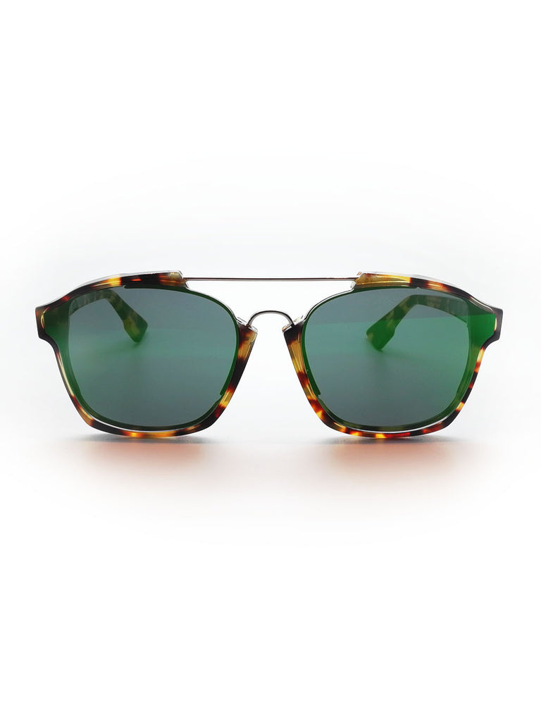 Dior Abstract Green Mirror Havana