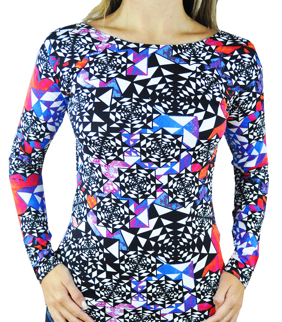 Abstract Long Sleeve