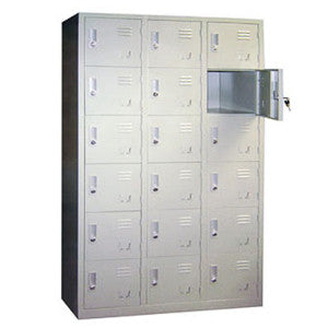 Lockers & Reception Table