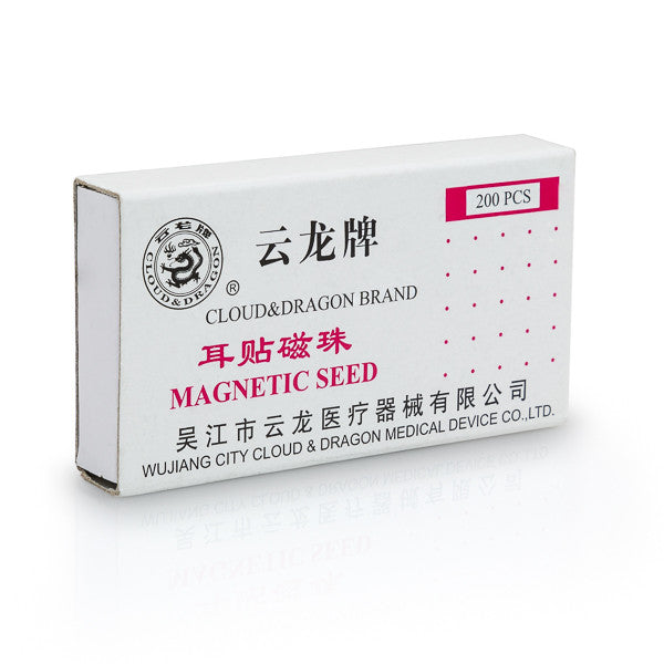 Cloud & Dragon magnetic ear seeds box.