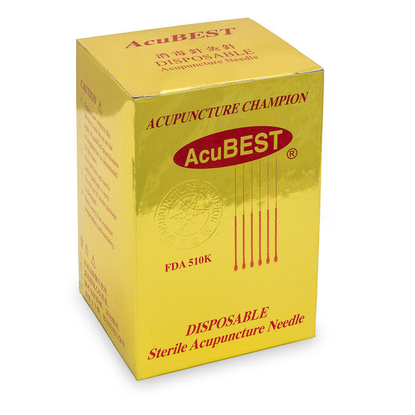 AcuBEST Acupuncture Needles 500-count / A2