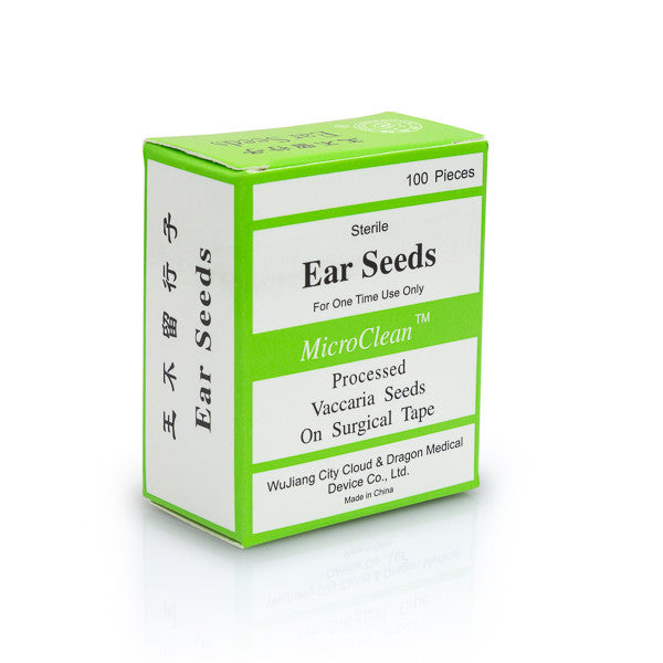 Cloud & Dragon MicroClean acupuncture ear seeds box.