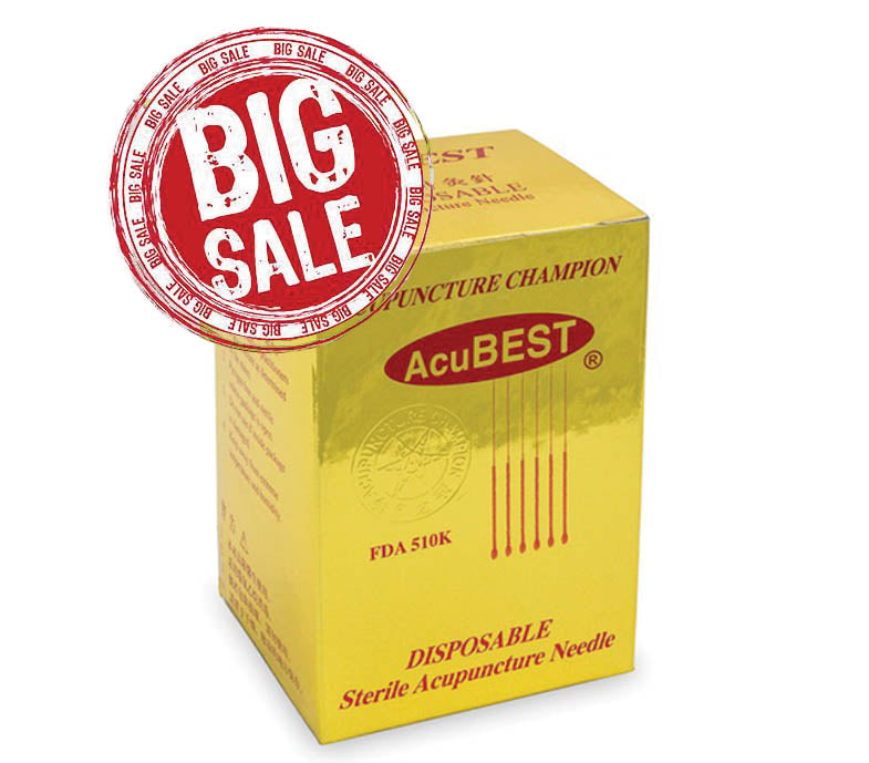 "AcuBEST Acupuncture Needles ( 22#-42#; 0.5"" to 6"" Long) / A1-BIG SALE - Acubest"