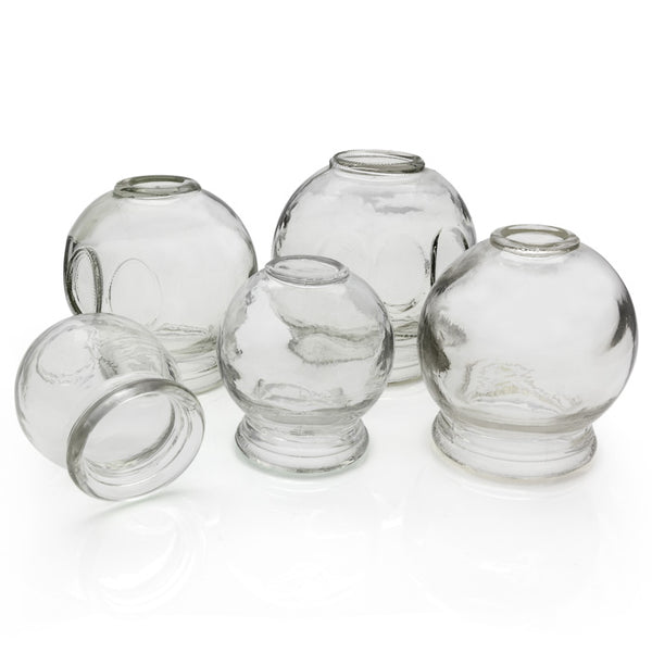 C-01A Glass cupping jars