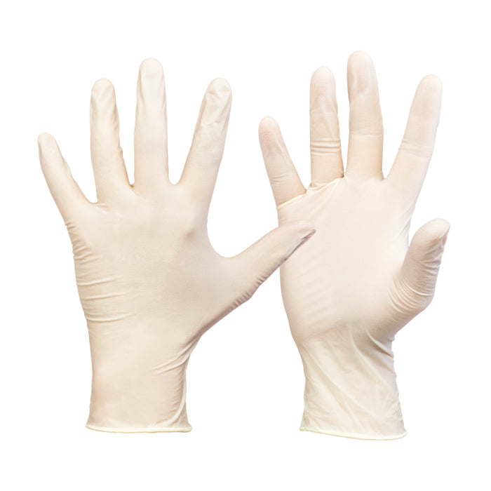 Latex Disposable Medical Examination Gloves / ‎P-03