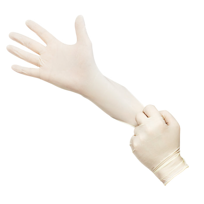 Latex Disposable Medical Examination Gloves (Non-Powdered) / ‎P-03A