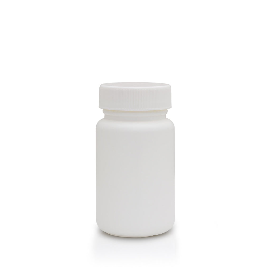 Empty Medicine & Herb Plastic Bottle / E-02