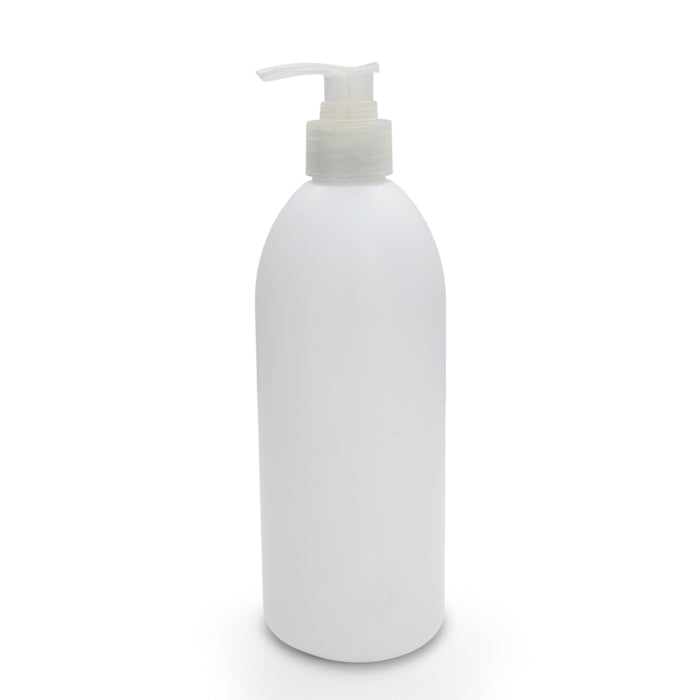 E-23B1 White plastic bottle