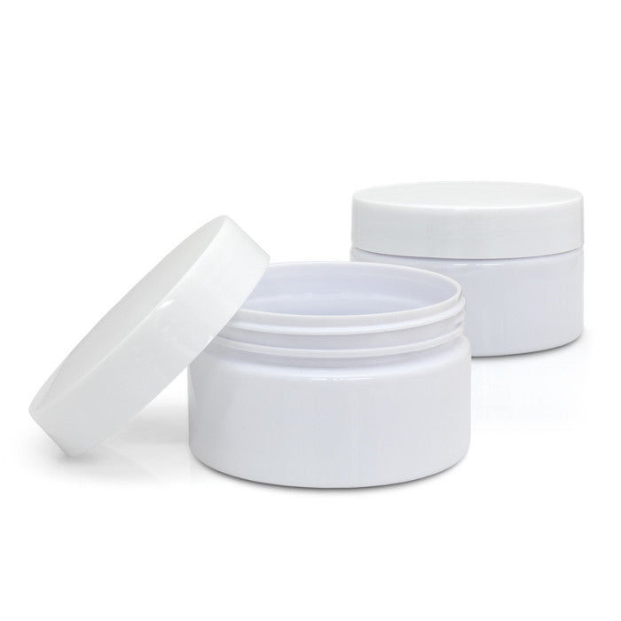 E-24 Plastic cream jars
