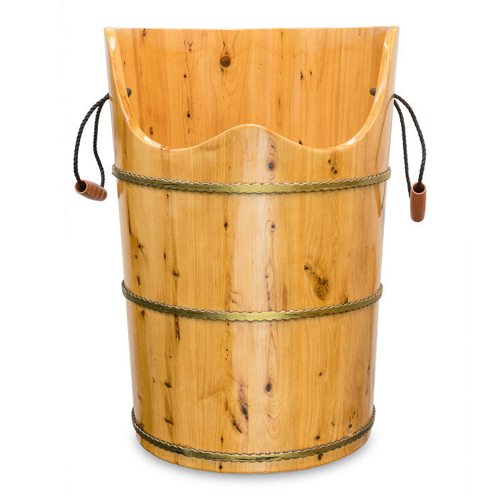 Wooden Foot Bath Barrel/  Foot Bath Bucket/  Wooden Foot Bath Cask/ # E-30