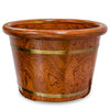 Wooden Foot Bath Bucket / E-41B1