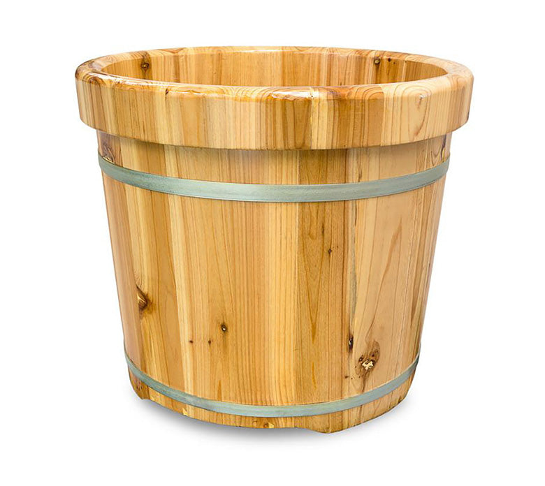 Wooden Foot Bath Bucket / E-41B