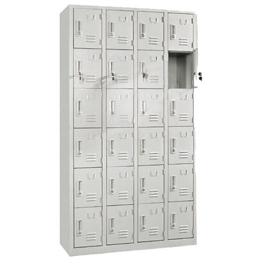 24-Compartment Locker / E-48-24 - Acubest