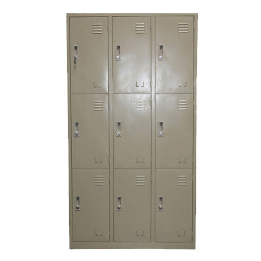 9-Compartment Locker / E-48-9